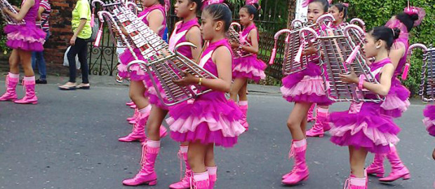 19 schools vie for drum and bugle contest 2015 n Iloilo - 2
