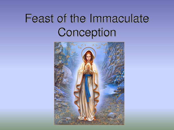 Feast of Immaculate Conception (Burunyugan)