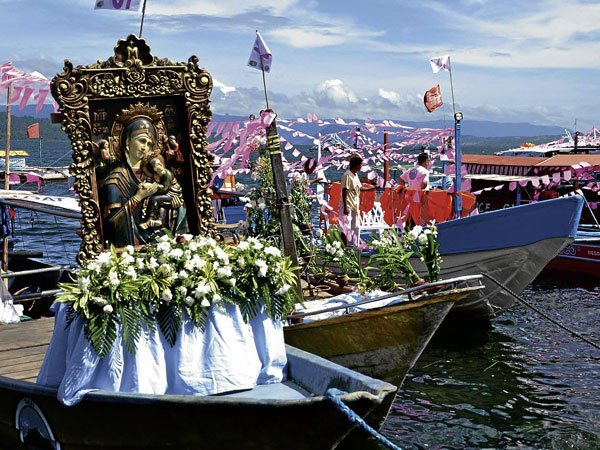 Fluvial Procession at Taal
