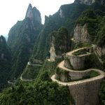 This Road Reaching The Top Of The Mountain Will Truly Get Your Heart Beat Faster
