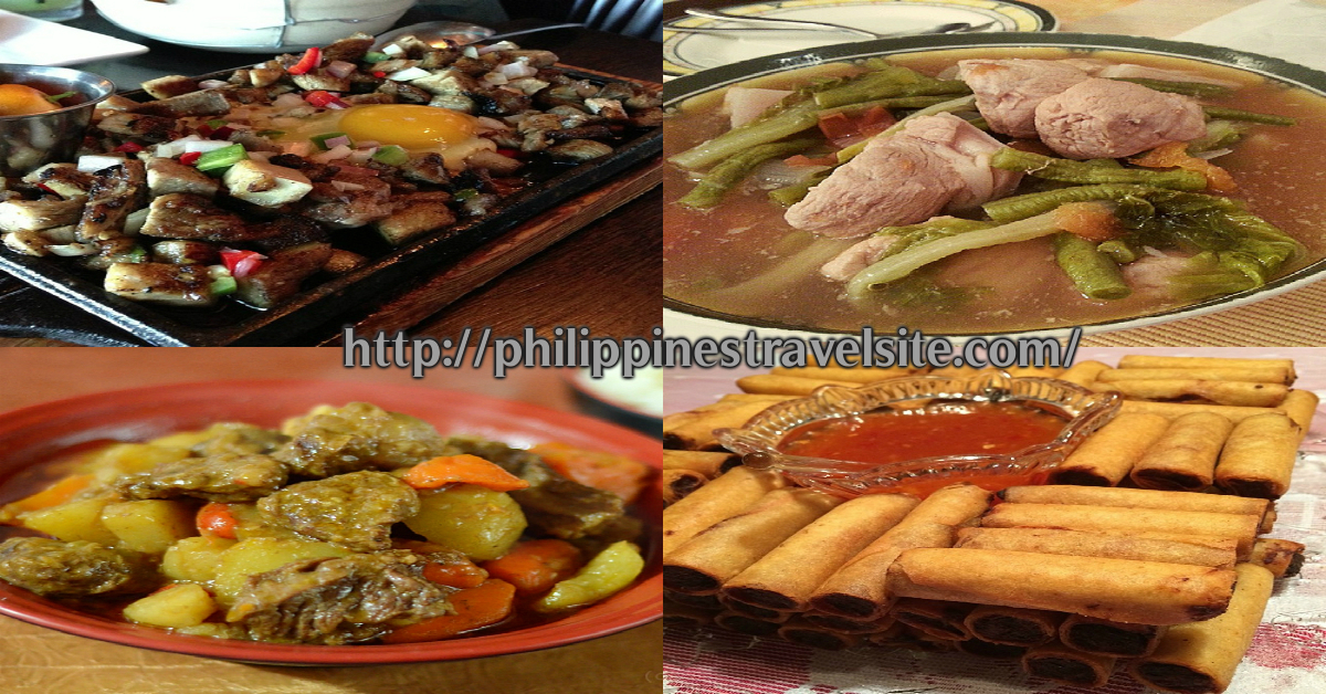 Filipino dishes