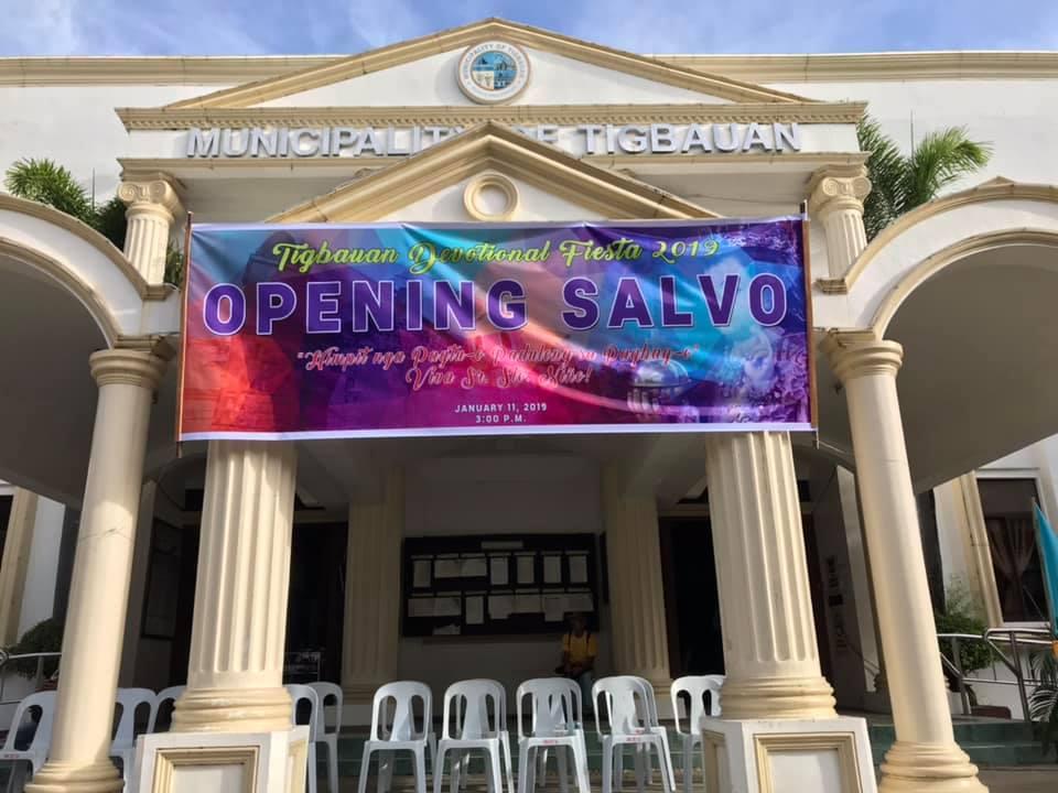 Dinagyang Opening Salvo 2019